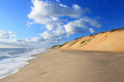 Massachusetts Coast Photograph - Cape Cod Ocean Beach by John Burk