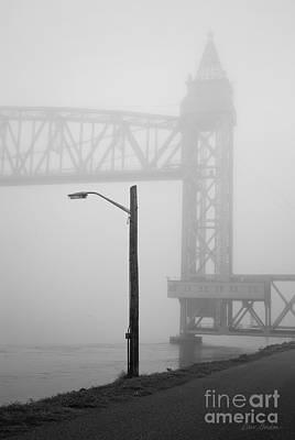 Cape Cod Railroad Bridge No. 3 Print by David Gordon