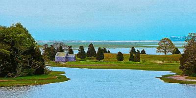 Photograph - Cape Cod Salt Pond 2 by Lou Ford