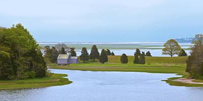 Photograph - Cape Cod Salt Pond by Lou Ford