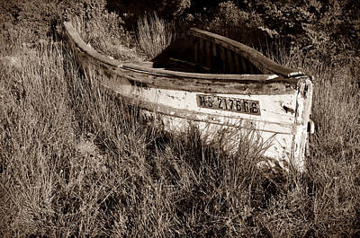 Photograph - Cape Cod Skiff by Luke Moore