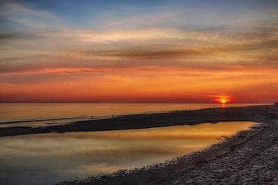 Photograph - Cape Cod Sunrise by Susan Candelario