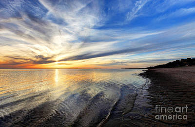Provincetown Photograph - Cape Cod Sunset  by Denis Tangney Jr