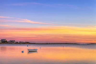 Massachussetts Photograph - Cape Cod Sunset by Michael Petrizzo