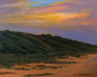 Cape Codtruro Sundown II  Original by Phyllis Tarlow