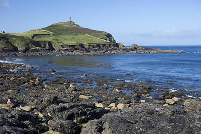 Photograph - Cape Cornwall by Tony Mills