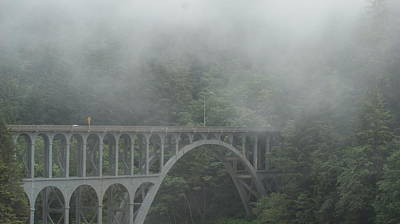 Photograph - Cape Creek Bridge by Michael Davis