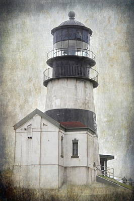 Photograph - Cape Disappointment Lighthouse by Angie Vogel