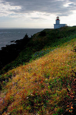 Photograph - Cape D'or Lighthouse by Brent L Ander
