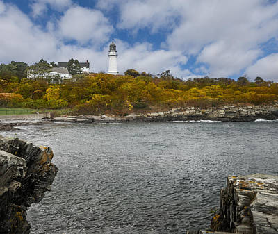 Landscape Photograph - Cape Elizabeth Lighthouse by Erwin Spinner