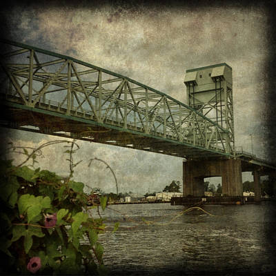 Cape Fear Morning Glory Print by Dorian Hill
