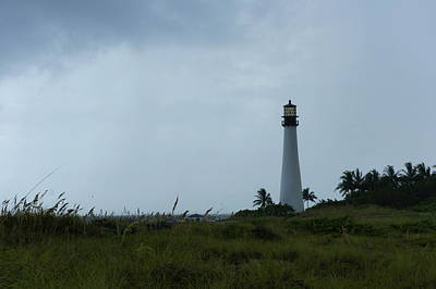 Photograph - Cape Florida Light by Laurie Perry
