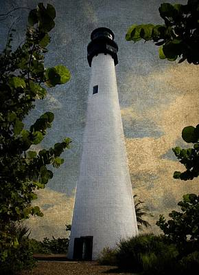 Photograph - Cape Florida Lighthouse 1 by Rudy Umans