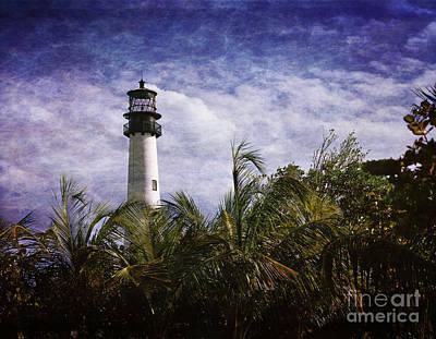 Cape Florida Lighthouse Photograph - Cape Florida  Lighthouse  by Heinz G Mielke