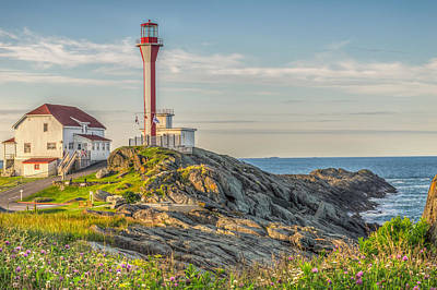 Photograph - Cape Forchu At Sunset by Garvin Hunter