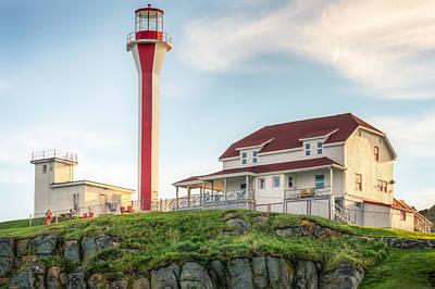 Cape Forchu Lighthouse Art Print