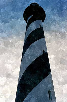 Carolina Duck Painting - Cape Hatteras by Duende Artworks