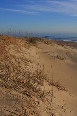 Cape Hatteras Dunes-outer Banks North Carolina Art Print by Mountains to the Sea Photo