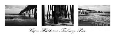 Cape Hatteras Fishing Pier Art Print