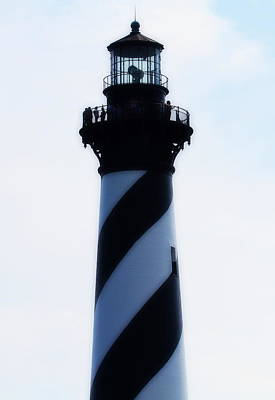 Ocean Photograph - Cape Hatteras Lighthouse 2014 6 by Cathy Lindsey