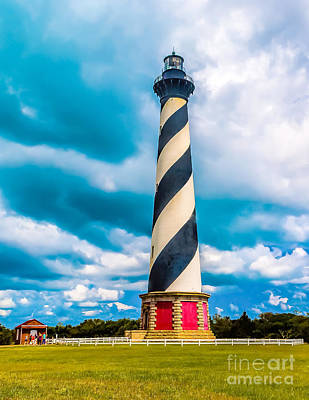 Photograph - Cape Hatteras Lighthouse In Summer by Nick Zelinsky