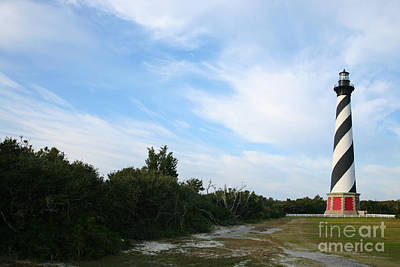 Cape Hatteras Lighthouse Art Print by Suzi Nelson