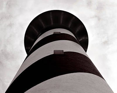 Photograph - Cape Hatteras Lighthouse by Val Stone Creager