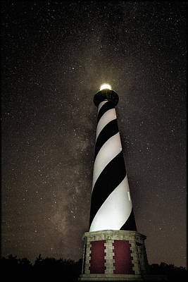 Photograph - Cape Hatteras Milkyway by Erika Fawcett