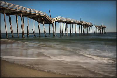 Photograph - Cape Hatteras Pier by Erika Fawcett