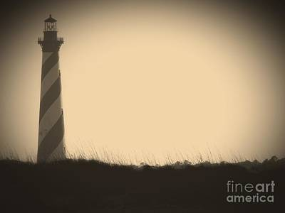 Photograph - Cape Hatteras Sepia by Dawn Gari