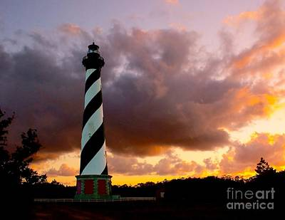 Cape Hatteras Sunset Art Print by Nick Zelinsky