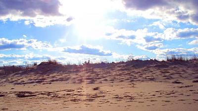 Outside Photograph - Cape Henlopen 11 by Cynthia Harvey