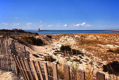 Photograph - Cape Henlopen Overlook by Bill Swartwout
