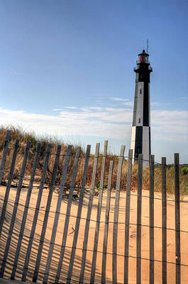 Photograph - Cape Henry Lighthouse Virginia Beach Va by JC Findley