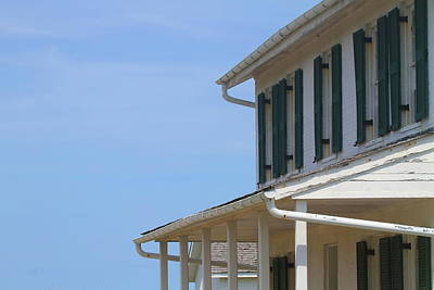 Museum Photograph - Cape Lookout Keeper's Cottage by Cathy Lindsey