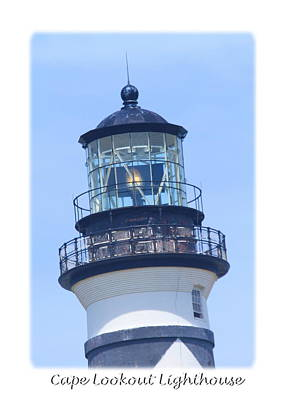 Scenic Photograph - Cape Lookout Light 2014 16 by Cathy Lindsey