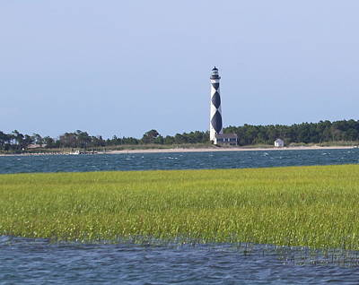 Cape Lookout Lighthouse 8 Art Print by Cathy Lindsey