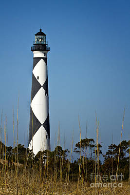 Photograph - Cape Lookout Lighthouse North Carolina by Carrie Cranwill