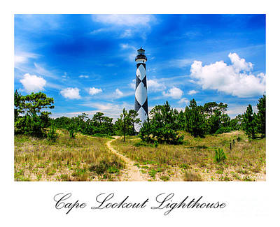 Beach Photograph - Cape Lookout Lighthouse by Tony Cooper