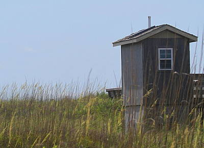 Marshes Photograph - Cape Lookout Shack by Cathy Lindsey