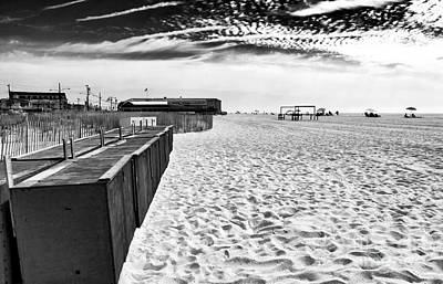 Photograph - Cape May Beach Day by John Rizzuto