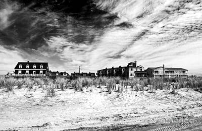 Photograph - Cape May Beach Houses by John Rizzuto