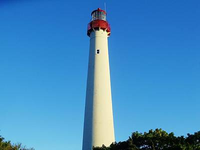 Photograph - Cape May Lighthouse by Ed Sweeney