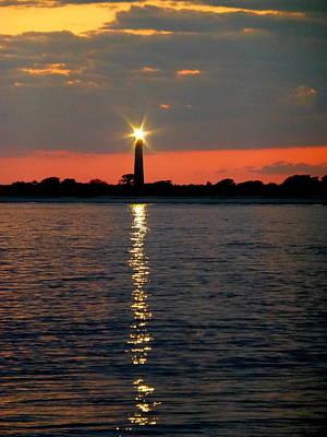 Photograph - Cape May Lighthouse by Glenn McCurdy