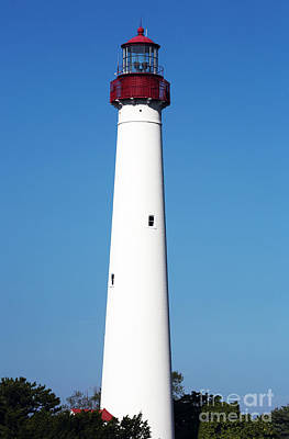 Photograph - Cape May Lighthouse by John Rizzuto