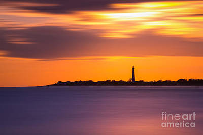 Cape May Lighthouse Long Exposure Print by Michael Ver Sprill