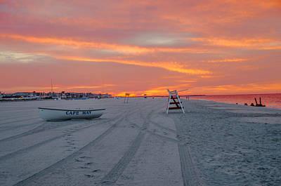 Color Guard Photograph - Cape May Seascape by Bill Cannon