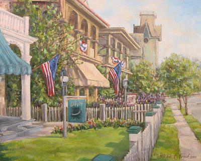Cape May Street Scene Original by Michele Tokach