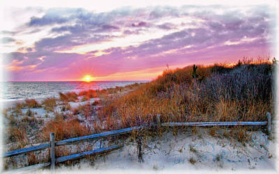 Photograph - Cape May Sunset by Carolyn Derstine