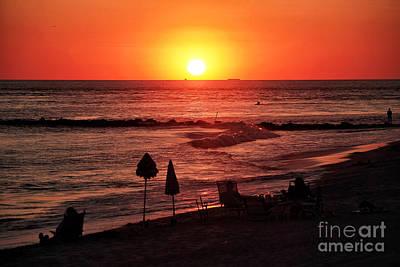 Photograph - Cape May Sunset by John Rizzuto